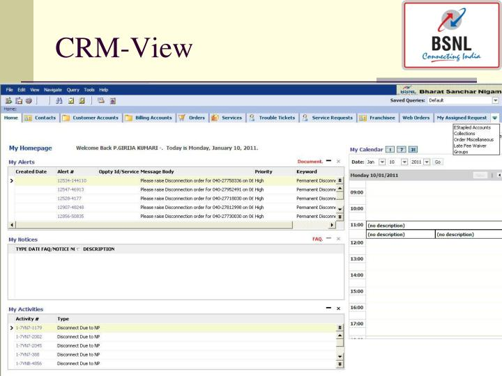CRM-View