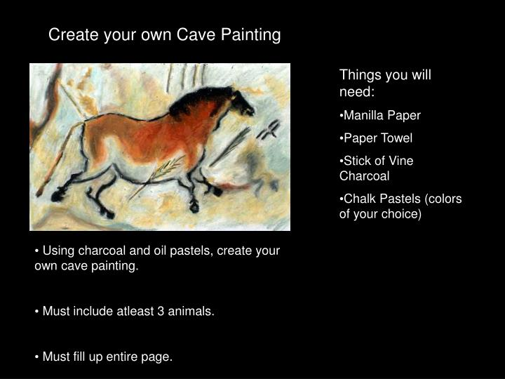 Create your own Cave Painting