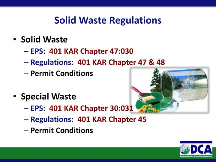 Solid Waste Regulations
