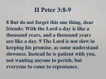 ii peter 3 8 9