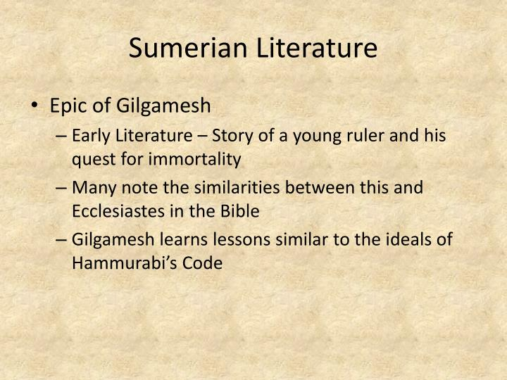 Gilgamesh flood myth