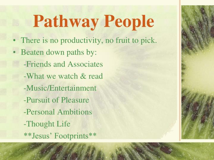 Pathway People