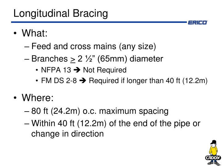 Longitudinal Bracing