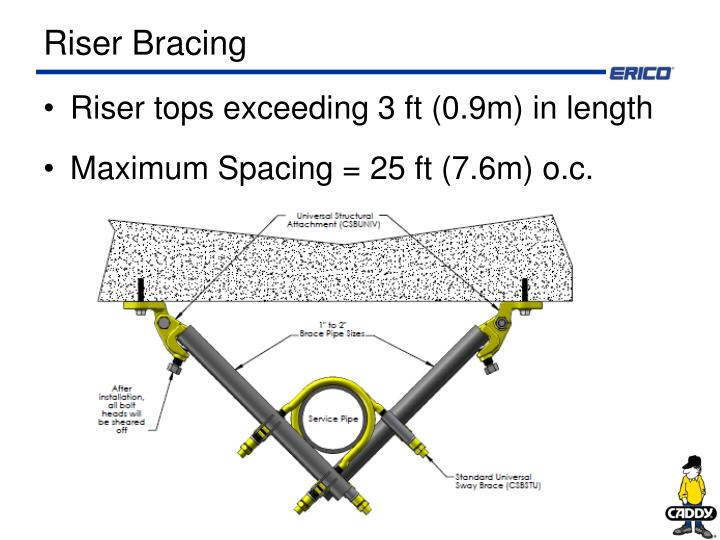 Riser Bracing
