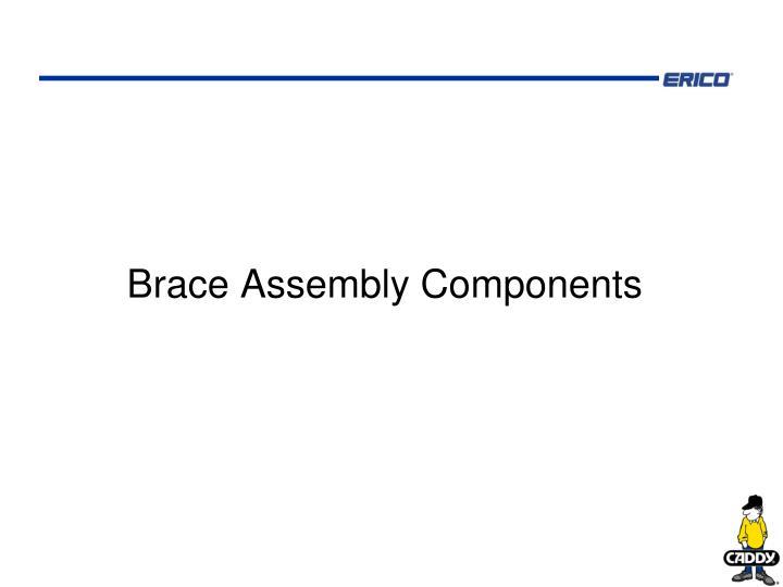Brace Assembly Components