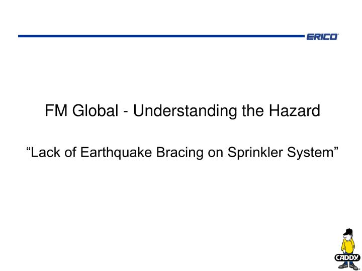 FM Global - Understanding the Hazard