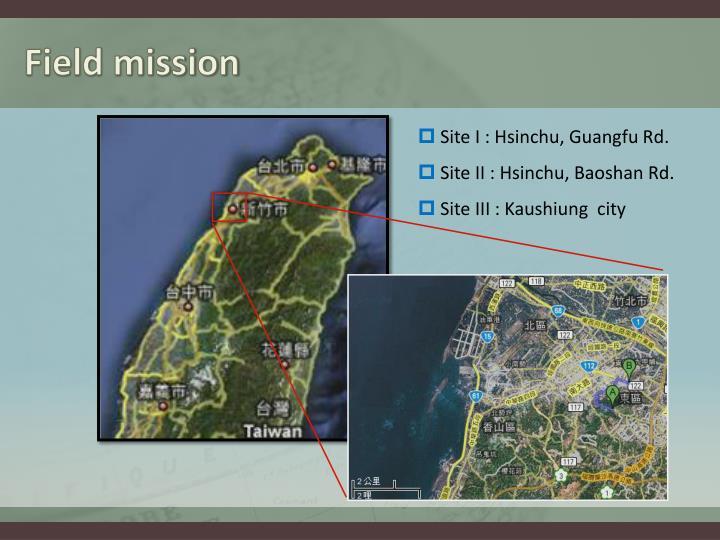 Field mission