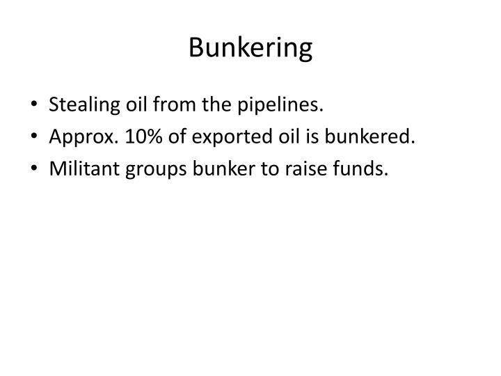Bunkering
