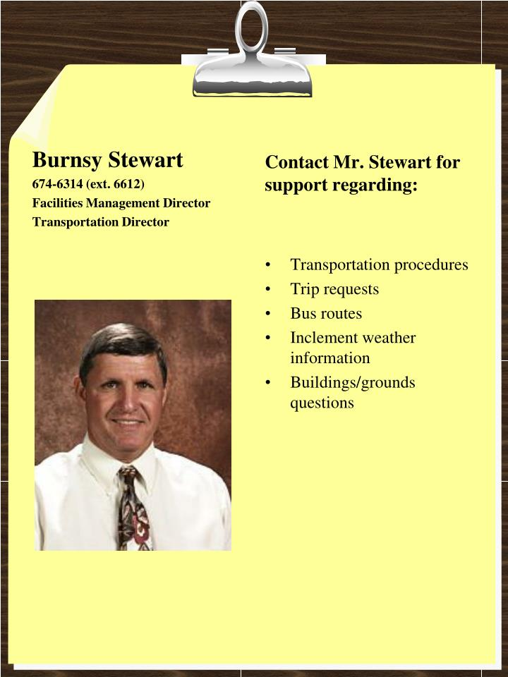 Burnsy Stewart