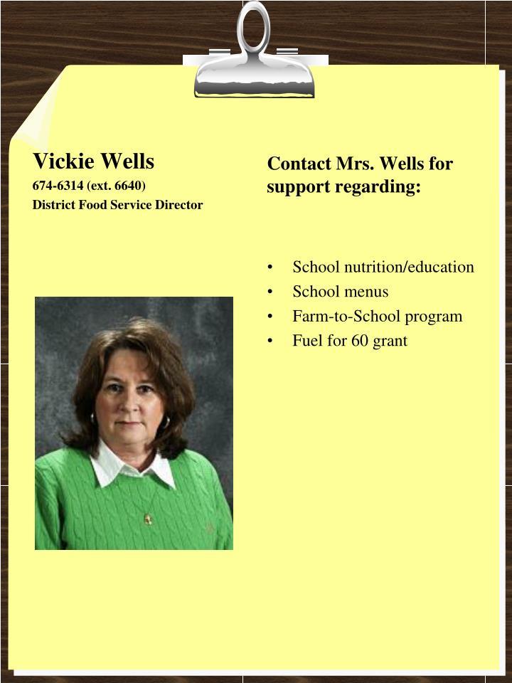 Vickie Wells