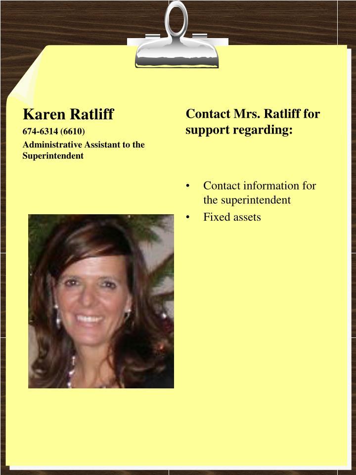 Karen Ratliff