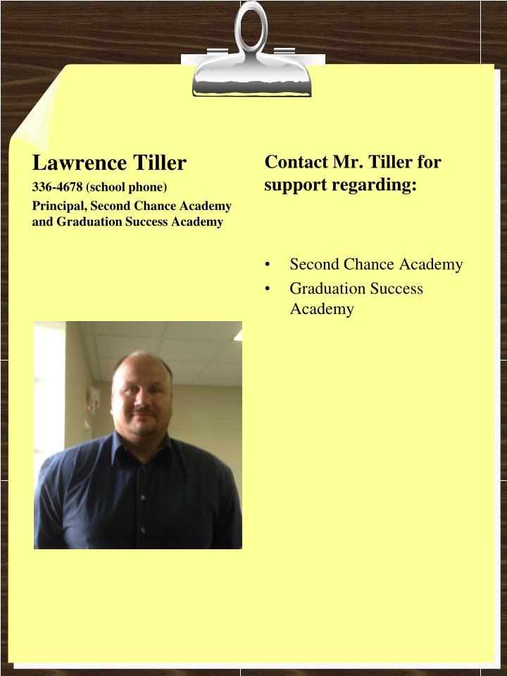 Lawrence Tiller
