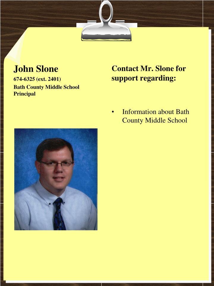 John Slone