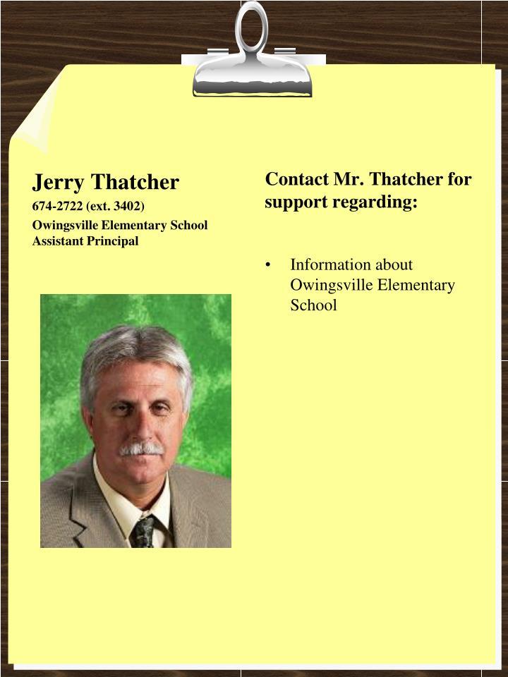 Jerry Thatcher