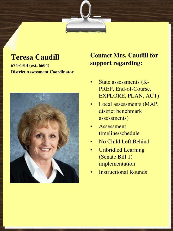 Teresa Caudill
