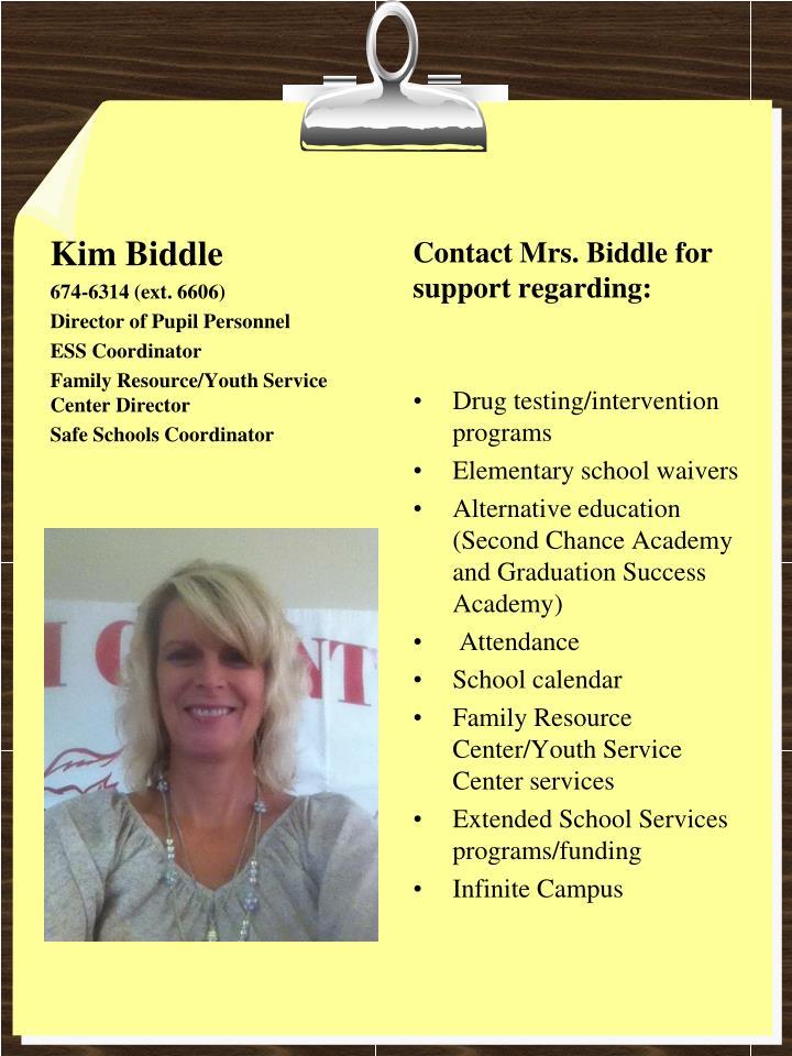 Kim Biddle