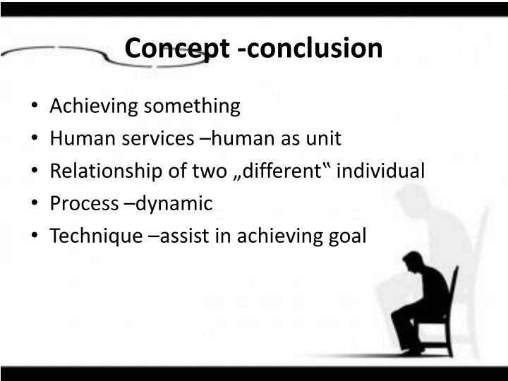 Concept -conclusion