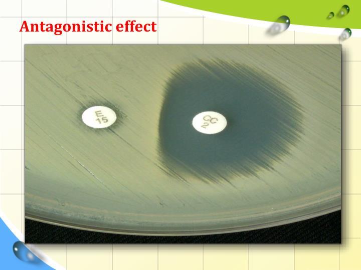 Antagonistic effect