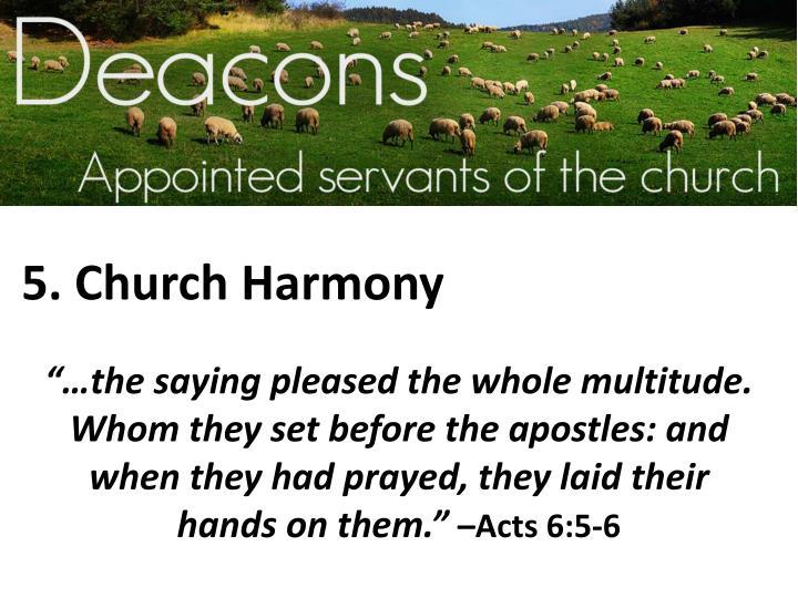 5. Church