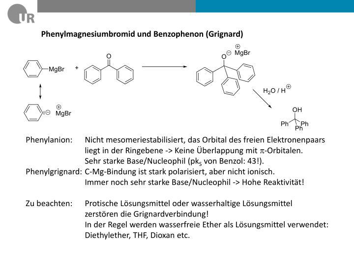 Phenylmagnesiumbromid und