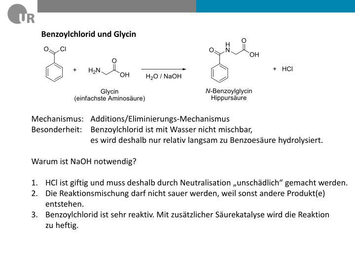 Benzoylchlorid