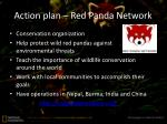 action plan red panda network
