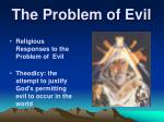 the problem of evil3