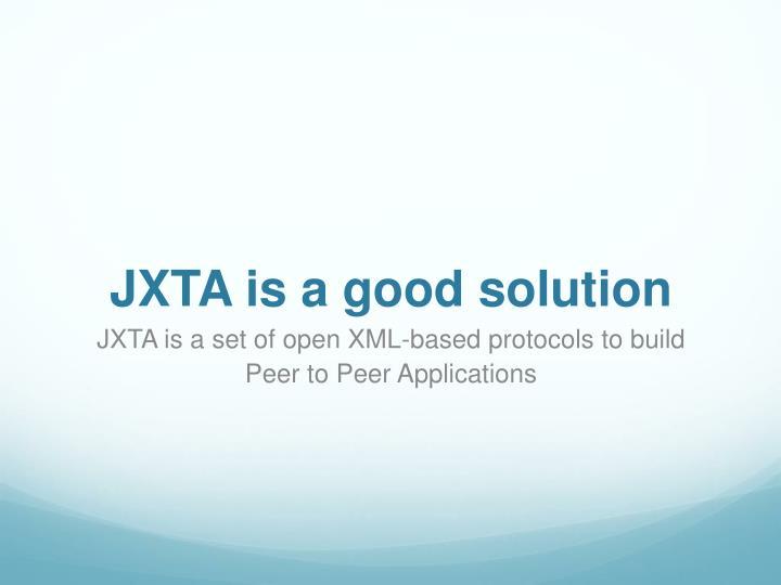 JXTA is a good solution