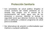 protecci n sanitaria