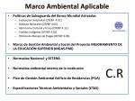 marco ambiental aplicable