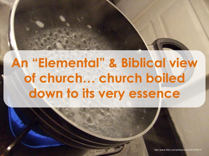 "An ""Elemental"
