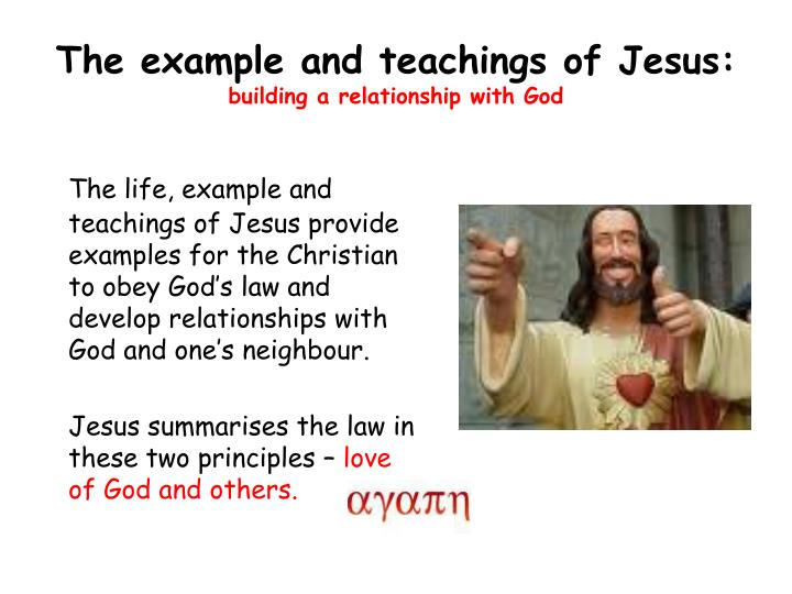 how do build a relationship with god