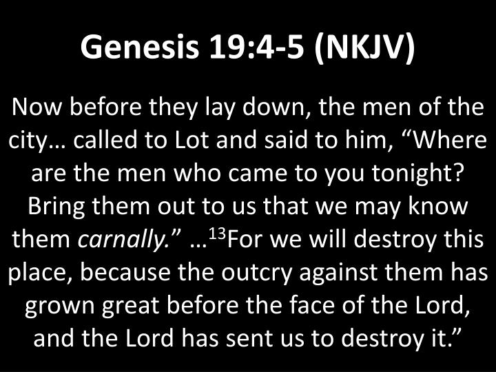 Genesis 19:4-5 (NKJV)