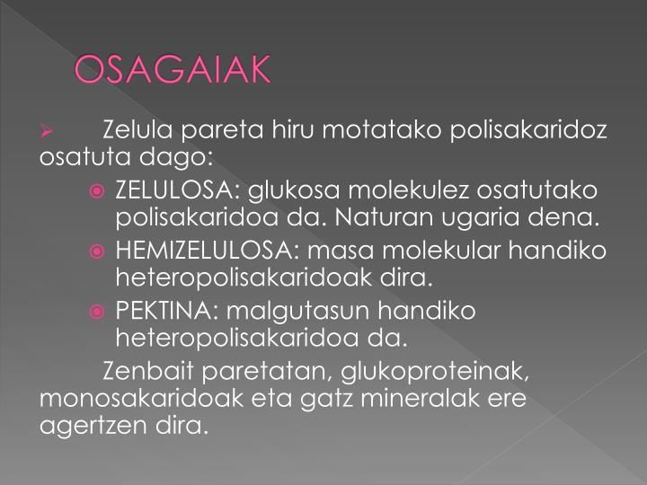OSAGAIAK