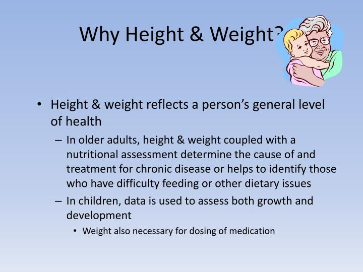 Why height weight