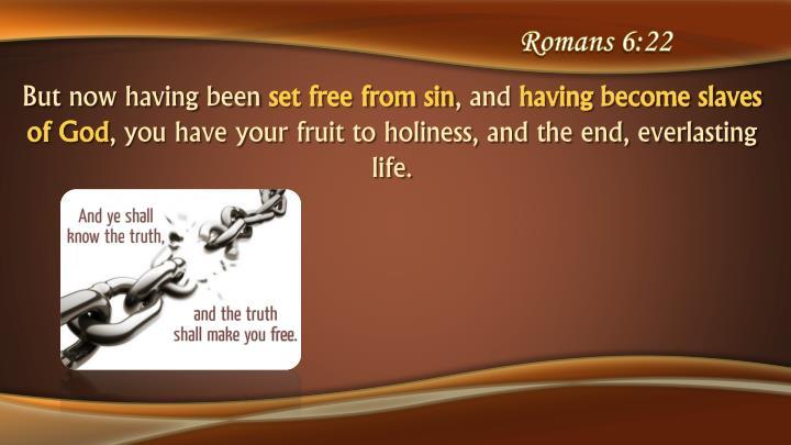 Romans 6:22