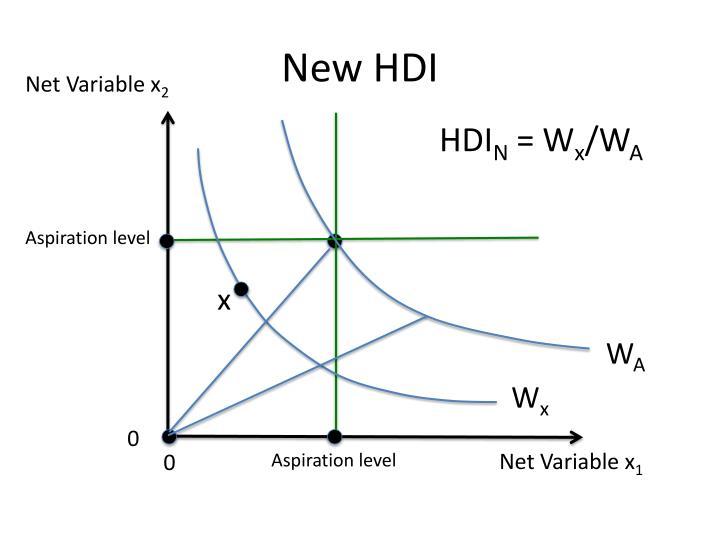 New HDI