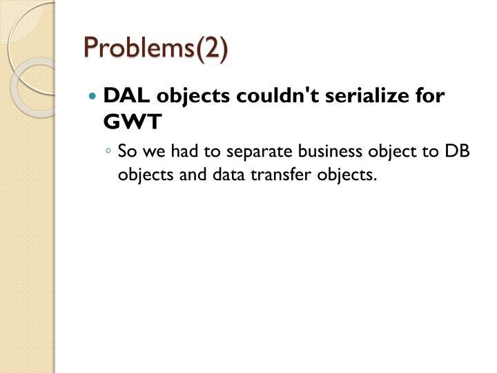 Problems(2)