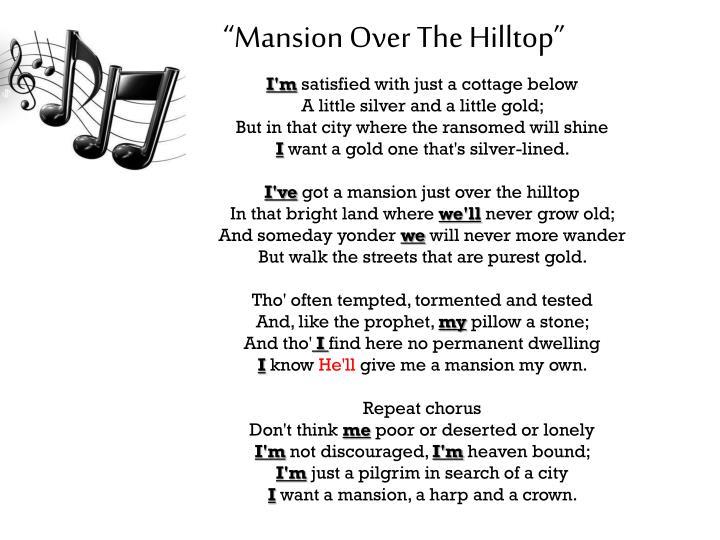 """Mansion"