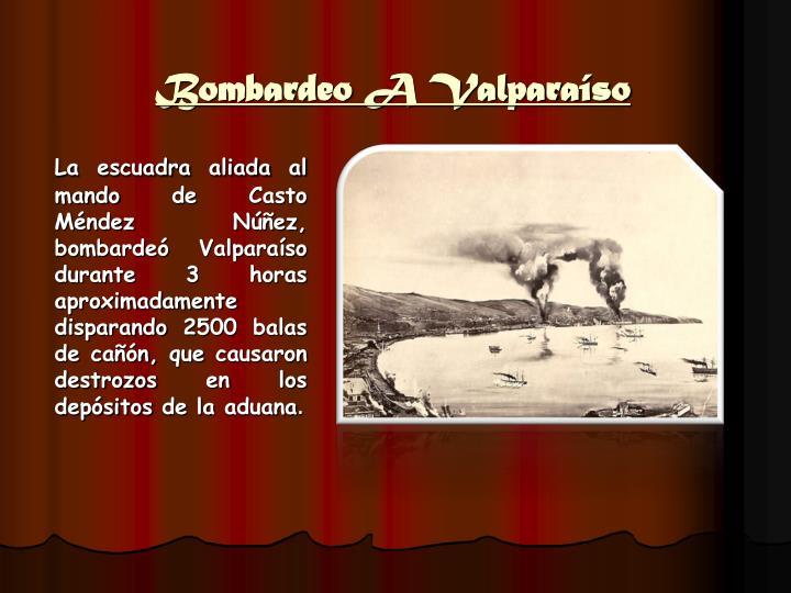 Bombardeo A Valparaíso