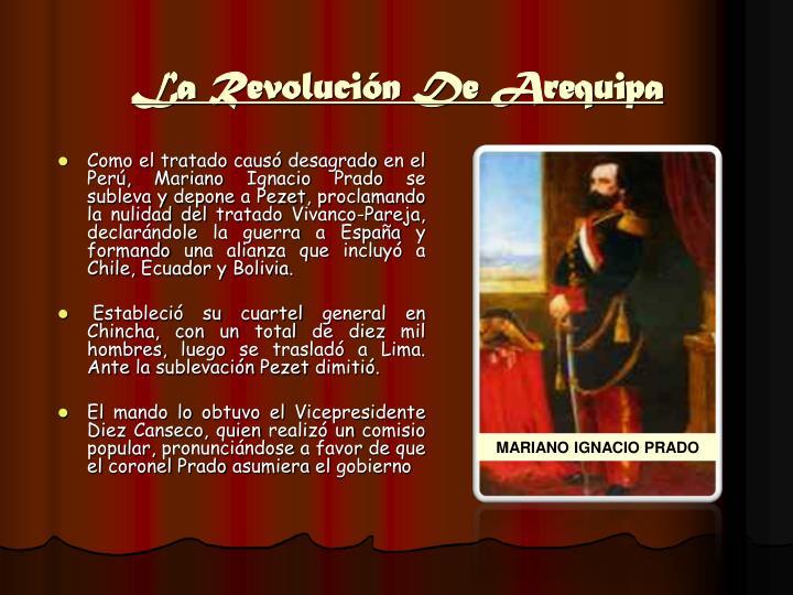 La Revolución De Arequipa