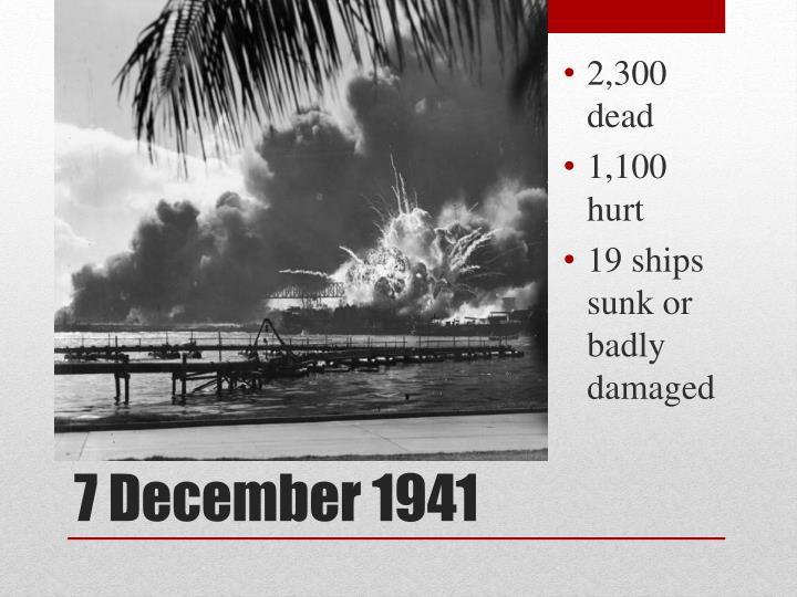 2,300 dead