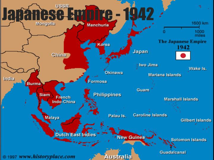 Japanese Empire - 1942