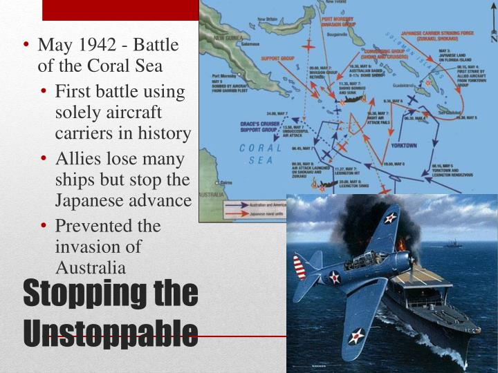 May 1942 - Battle of the Coral Sea