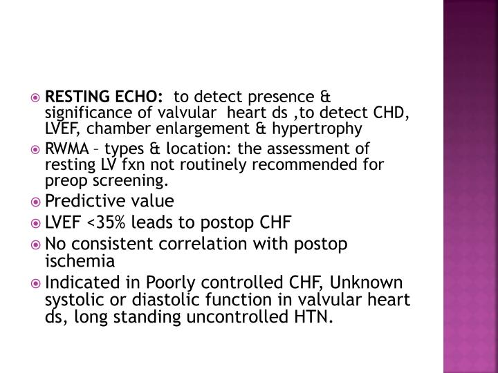 RESTING ECHO: