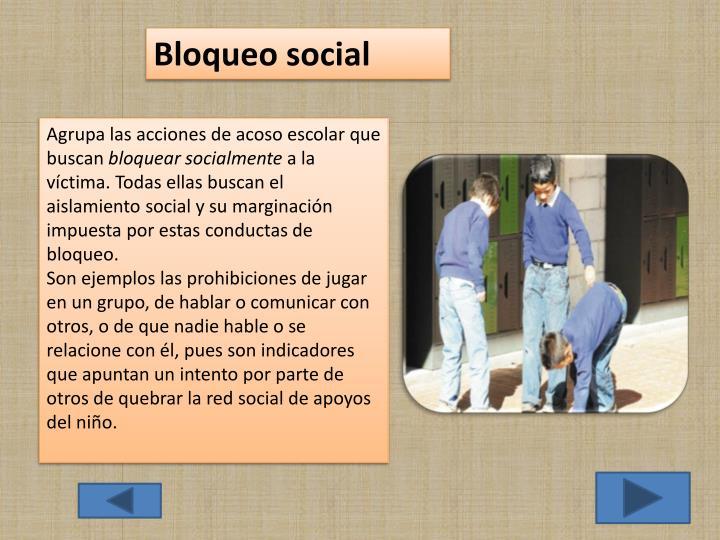 Bloqueo social