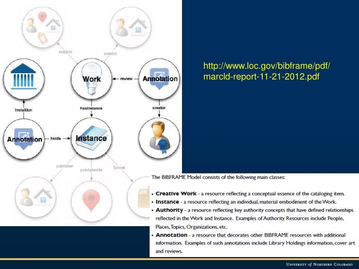 http://www.loc.gov/bibframe/pdf/marcld-report-11-21-2012.pdf