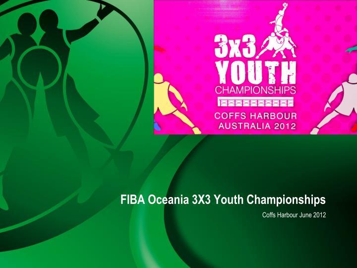 FIBA Oceania 3X3 Youth Championships