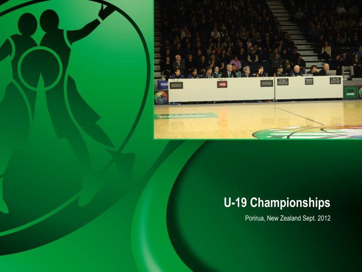 U-19 Championships