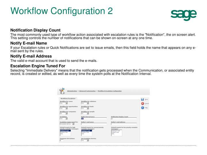 Workflow Configuration 2